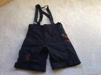 Kids Spyder Ski Race Training Shorts, size 16