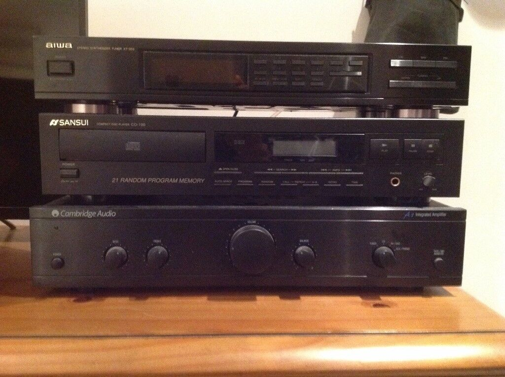 Hi fi stereo separates as supplied by Richer Sounds. Good condition. Good sound quality.