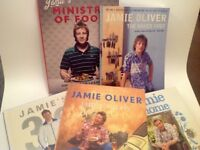 Jamie Oliver Cookery Books.