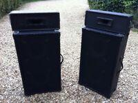 PA Speakers - good working order