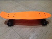 South coast skates orange skateboard, new never used