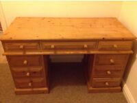 Large desk or dressing table (upcycle)