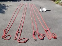 Mooring ropes/lines