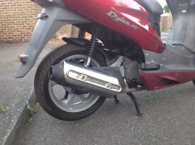 HONDA SH DYLAN 2008 ENGINE FULLY RUNNING COMPLETE WITH WHEEL,CARB,AIRBOX AND EXHAUST