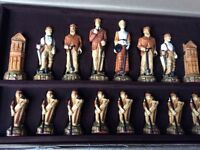 SAC hand crafted golf chess set