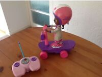 (REDUCED TO £2)DOC MCSTUFFINS REMOTE CONTROL SCOOTER