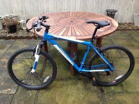 Nearly new Adventure Mountain bike 18'' Frame