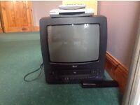 LG TV and Panasonic Freeview Box