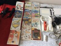 White Nintendo wii package