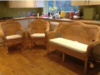 Lovely conservatory suite set -