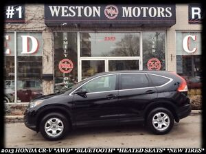 2013 Honda CR-V *AWD *BLUETOOTH *AUTO *HEATED SEATS *NEW TIRES
