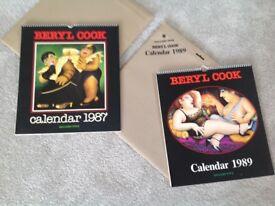 1987+ 1989 calendars