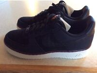 LadiesTrainers - Nike Air Force 1 Suede - Black size 39/5.5
