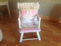 Up cycled toddlers chair