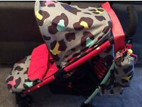 Cosatto Yo stroller - Wild design, good condition, can be used from birth.