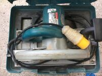 Used Makita 110v skill saw.