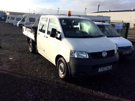 VW T5 2.5 130 break drop side pick up two owners from new mint condition