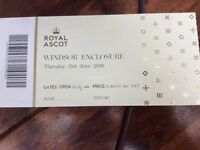 1 x Ascot ticket for Ladies Day