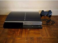 PS3 PlayStation 3 80GB Original Console Good Condition