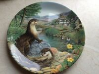 Limited addition Davenport decorative plates