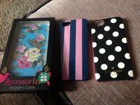 3 x I Phone 5 phone cases