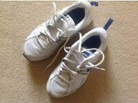 White Nike trainers - size 4