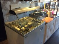 Ice Cream vending to hold 6 flavours or 4 napoli trays. You can purchase different trays