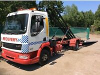 Daf lf45 150 tilt slide recovery low approach with spec 2003