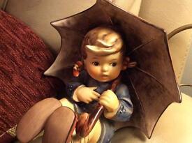 Hummel umbrella girl