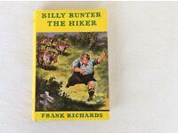 BILLY BUNTER THE HIKER - HARDBACK BOOK