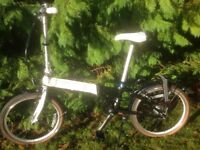 Folding bike, Dahon Vitesse i7 Nexus