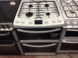 Zannusi brand new 60 cm gas cooker double oven