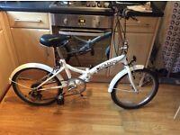 Unisex Saxon Fold Up Bike
