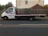 Transit tilt and slide 3.5 ton recovery truck proper little truck Ramsey winch extremely rare