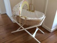 Moses Basket and Stand from Mamas and Papas