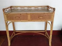 Bamboo/wicker Dressing Table