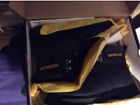 CAT workboots size 9