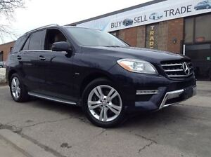 2012 Mercedes-Benz M-Class ML350 BlueTEC | FULLY LOADED | NAVIGA