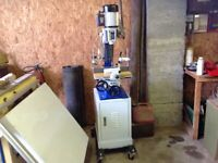 Charnwood W325 morticer, mortice machine