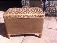 Vintage ottoman/blanket box