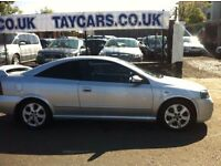 2001 VAUXHALL ASTRA BERTONE 12 MONTHS MOT INCLUDED ONLY £595