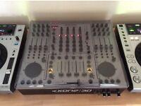 Allan & Heath xone 3D dj mixer in silver