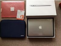 """New Apple MacBook Air 13.3"""" Free Apple Bag + Free Apple Case cover and Office 365"""