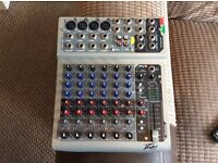 Dj peavy mixer PV8 complete with power adaptor,in fully working order
