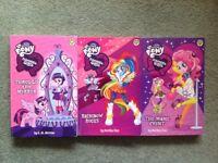 My Little Pony Equestria Girls Set of 3 Books