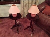 Occasional Tables and table lamps