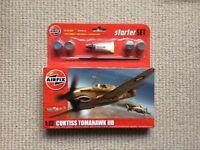 Airfix starter Set - 1:72 Curtiss Tomahawk IIB