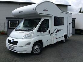 2010 (59) PEUGEOT BOXTER 333 ELDDIS AUTOQUEST, ONLY 18000 MILES FROM NEW