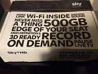 Original sky + he box 500GB with remote and cables £20 ono
