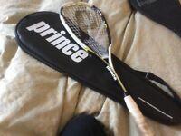 Prince squash racket